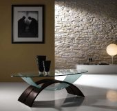 Collections Linea Hall Units, Italy Coffee Table Model 3113W
