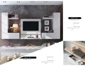 Brands Fenicia Wall Units, Spain Fenicia Wall Unit Salon 12