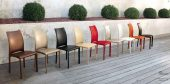 Collections Unico Tables and Chairs, Italy NAXOS CHAIRS