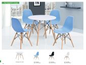 Dining Room Furniture Modern Casual Dining Sets 902 Table and 971 Chairs