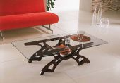 Collections Linea Hall Units, Italy Coffee Table Model Cartesio
