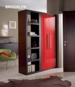 Collections Linea Hall Units, Italy Brooklyn Room Divider Composition E